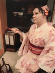 Kimono photo shoot Asakusa 2