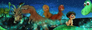 The Good Dinosaur by pose-y