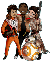 Star Wars Collab by pose-y