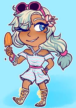 (comm) popsicle summer