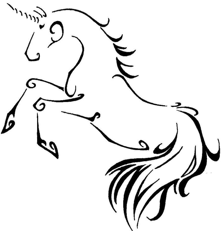 unicorn design by tweakster on deviantart
