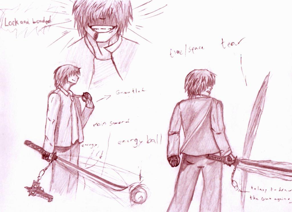 Fear Weapon Version 2 sketch by FEARprototype