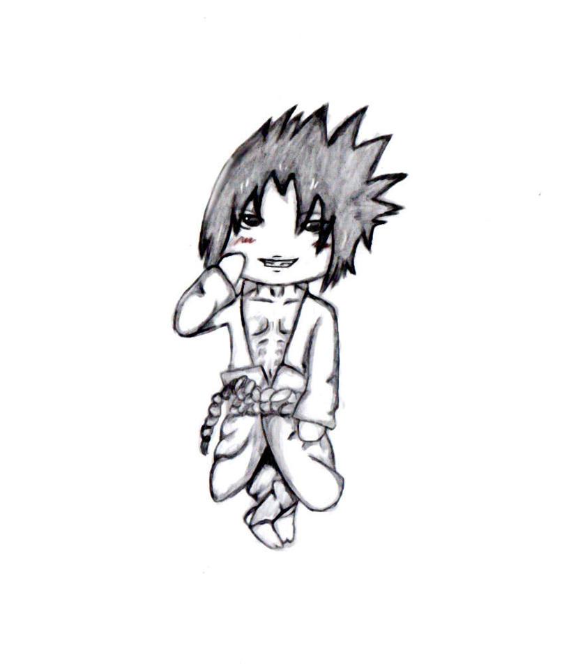 Sasuke evil Smile sketch by FEARprototype on DeviantArt