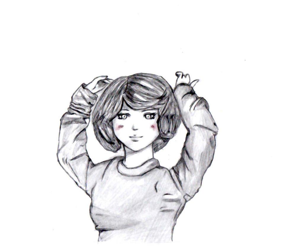 Cute Doll sketch by FEARprototype on DeviantArt
