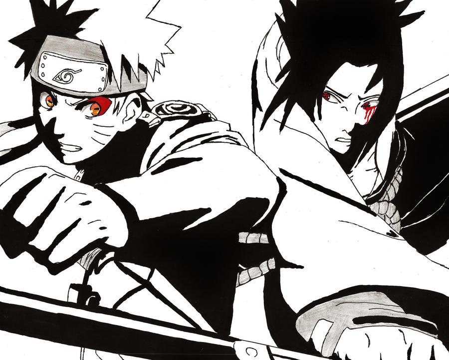 Naruto Vs Sasuke By Screwston12 On DeviantArt