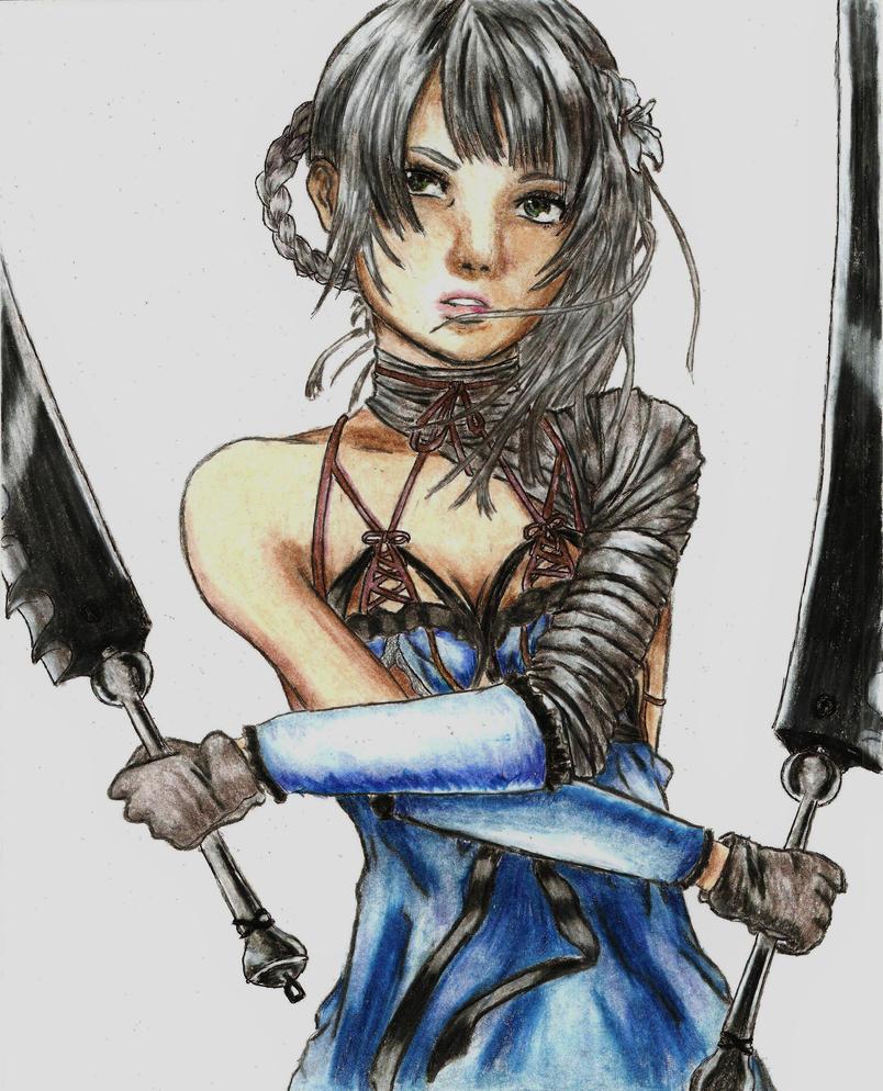 Nier - Kaine by screwston12