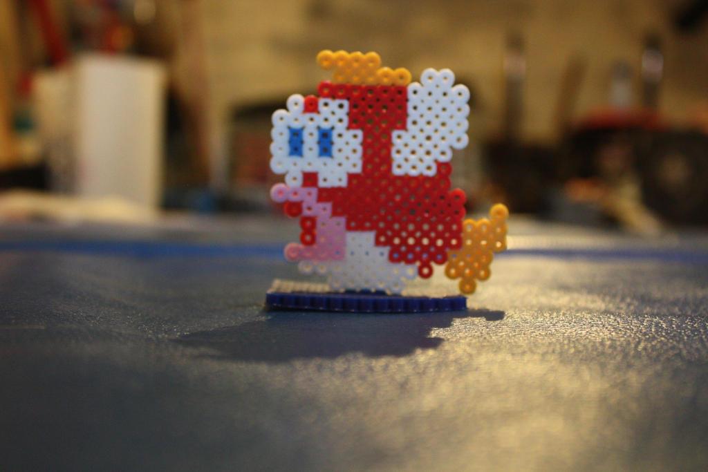 Perler Beads- Cheep Cheep by Puppylover5