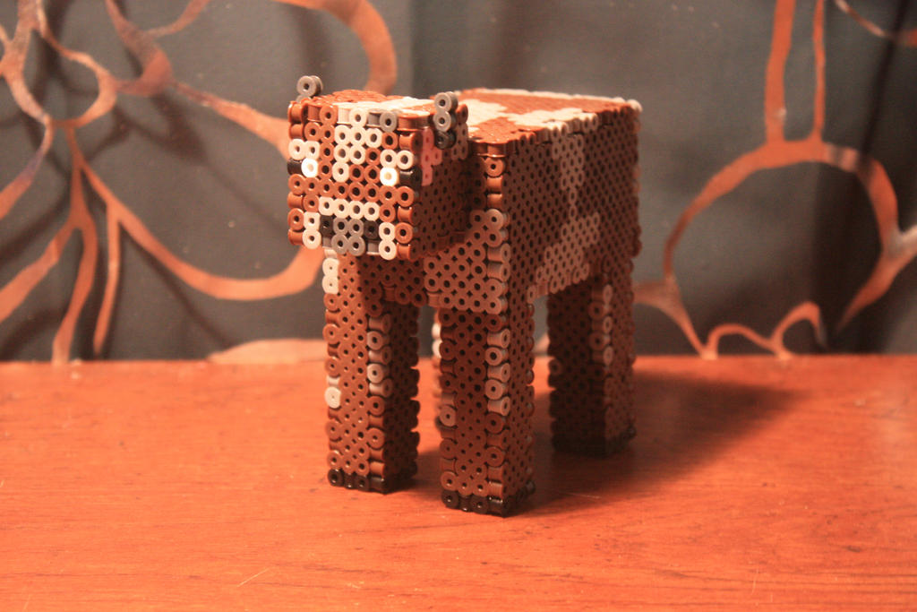how to make a 3d cow in minecraft