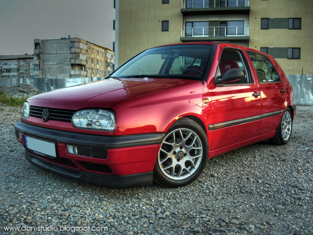 vw golf 3 hdr by dan studio on deviantart. Black Bedroom Furniture Sets. Home Design Ideas
