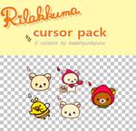 rilakkuma cursor pack