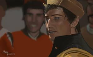 Michael York as Tybalt - Study by The-Nalkiahn