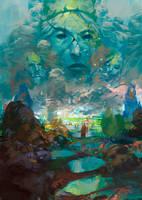 Il  Sogno di Gaia by KuteynikovRoman