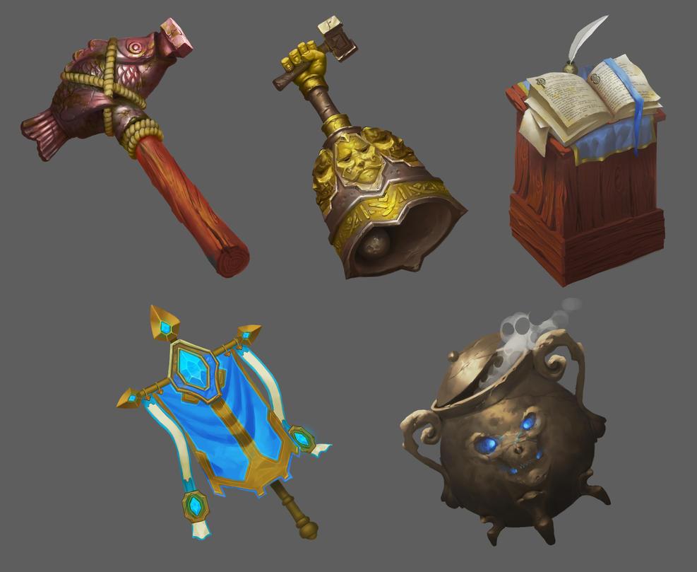 Game assets by KuteynikovRoman