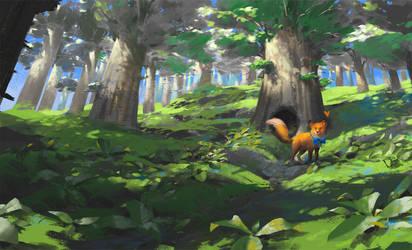 Fox by KuteynikovRoman