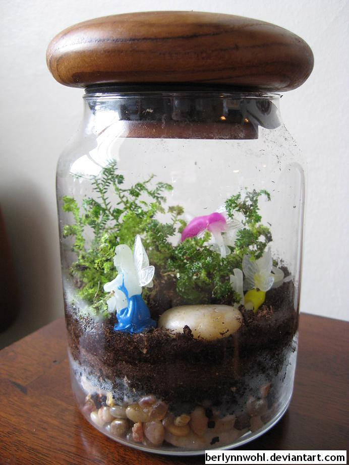 Fairies Terrarium by berlynnwohl