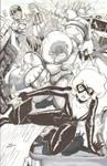 Black Cat, Spider-Man, Juggernaut Pandemonium