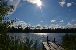 The lake by blackdahliah