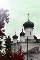 Russian church by blackdahliah