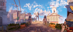 Columbia 1 - Bioshock Infinite Panorama by 2900d4u