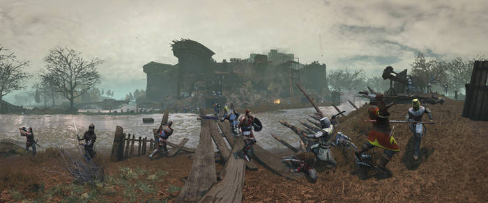 Castle Assault - Chivalry MW Timelapse Panorama