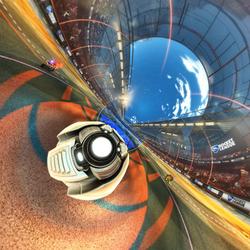 Rocket League - Orange Side - 360 Panorama