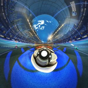 Blue Kick Off - Rocket League 360 panorama