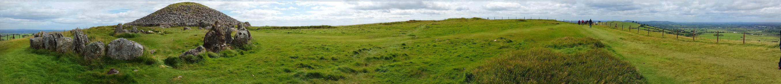 Loughcrew Passage Tombs - Panorama