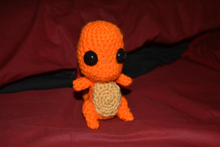 Charmander chibi crochet by YarnHoardingDragon