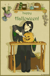SS Halloween-stopperdeath by snapefanclub
