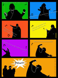 Snape's iPod Tribute by snapefanclub