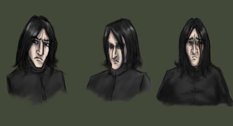 Snape Studies by snapefanclub