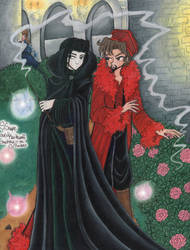 Snape and Karky - Garden by snapefanclub