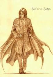 Severus Snape 1st day class... by snapefanclub