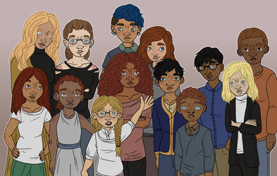 HP: Weasleys, Potters and Granger-Weasleys by aka-noodle