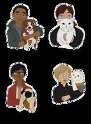 HP: Pets by aka-noodle