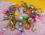 Candy skull bracelet