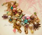 Versailles charm bracelet