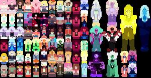 Steven Universe Pixel Babs