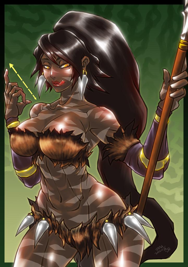 League Of Legend - Nidalee by Romehamu