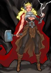 Thor (?) by Romehamu
