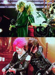 Aoi + Uruha - Then and Now
