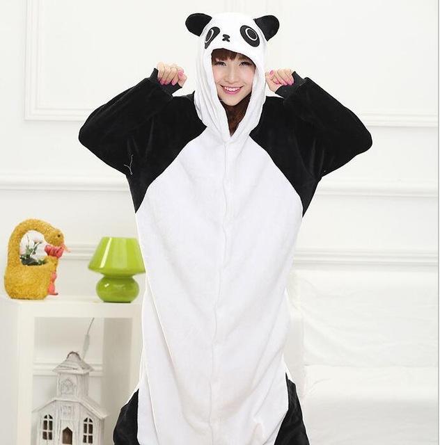 Panda onesie for adults by kenertj