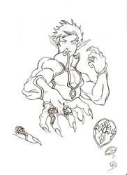 Vaek vorel and his rings by EsaulFurtado