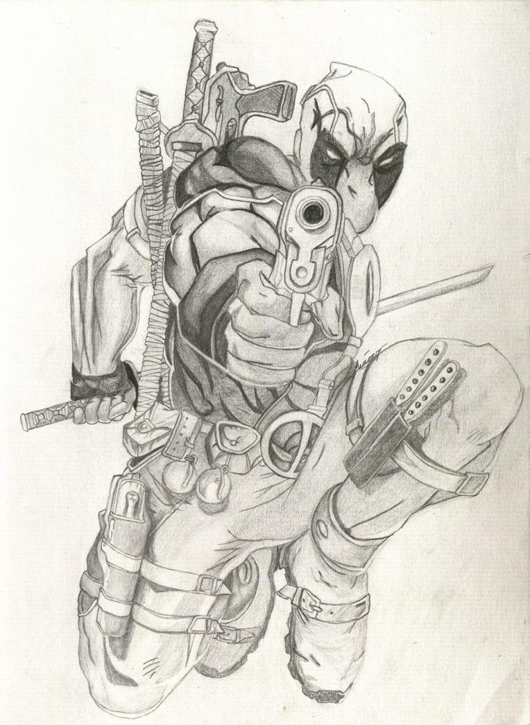 Deadpool by Mimicry-rarojas