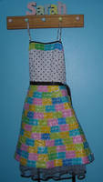 Starburst Wrapper Dress