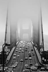 golden gate bridge by stranj