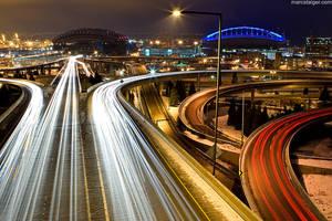I-90 interchange by stranj