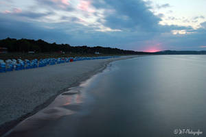 dreamlike mood at the beach of goehren 1 by MT-Photografien