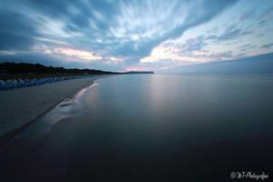 dreamlike mood at the beach of goehren 2 by MT-Photografien