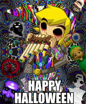 Psychedelic Link Halloween edition